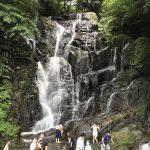 福岡県糸島市の観光スポット、白糸の滝へ行って来ました