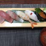 寿司膳 葉月(久留米市荒木町)で夜のコースを頂きました