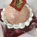 久留米市にあるケーキ屋さんで、桃のデザートを食べてみました