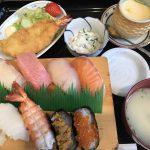 久留米市の一心(いっしん)で美味しいお寿司のランチを頂きました。